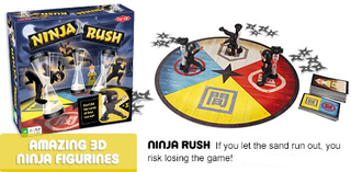 The (NINJA) Rush is On