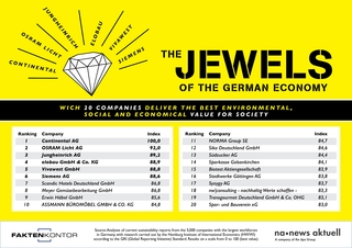 Top 20: Germany's companies with the largest social added value