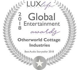 Travis Edward Pike's Otherworld Cottage Industries Wins A Luxlife Magazine 2018 Global Entertainment Award
