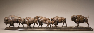 """Jackson Hole Giant """"Buffalo Trail"""" Sculpture Installation Celebrates 25th Anniversary National Museum of Wildl…"""