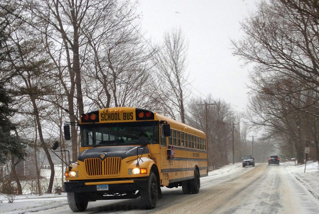 First Student urges motorists, students and parents to take extra precautions this winter to stay safe on the roads and at the bus stop.
