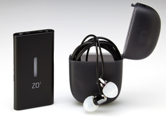 The digiZoid ZO2 personal subwoofer can be used with any headphone, earphone or speaker.