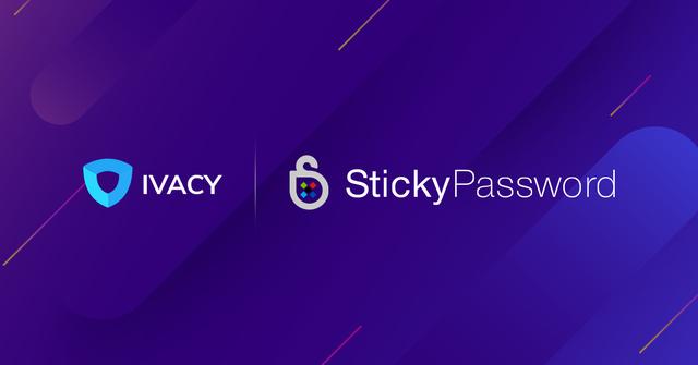Ivacy Sticky Password Partnership