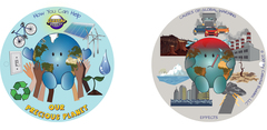 Hang tags for Our Precious Planet plush