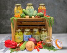 Low sodium pickles 7 varieties of Premium Craft Pickles (32oz Jars)