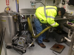 As an MSD certified hauler and Kentucky Restaurant Association Member, Moon Grease Trap Cleaning services large restaurant chains, single location restaurants, and food preparation sites.