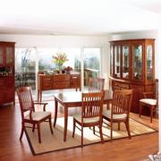 Heirloom Hardwood Amish Manchester Dining Room Set