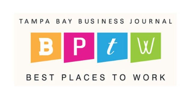 2019 TBBJ Best Places to Work Award