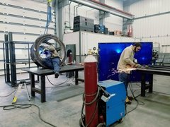 Simpson Alloy Services specializes in a wide variety of high temperature and wear resistant alloy material used to complete custom projects.