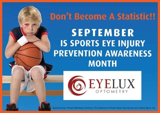 September is Sports Eye Injury Prevention Awareness Month