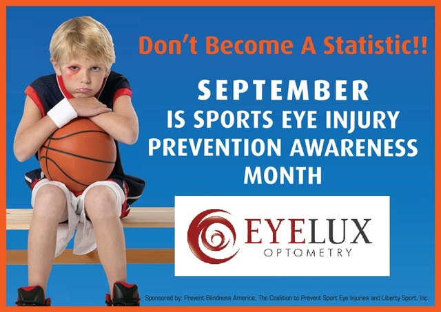 EyeLux Optometry, located in 4S Ranch in Rancho Bernardo, is an Authorized Sports Eye Injury Prevention Center.