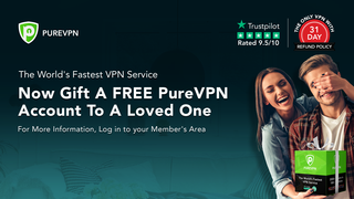 Gift Free Monthly Accounts to Loved Ones with PureVPN's B1G1