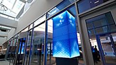 Sheraton Dallas Hotel experiential art installation/leftchannel