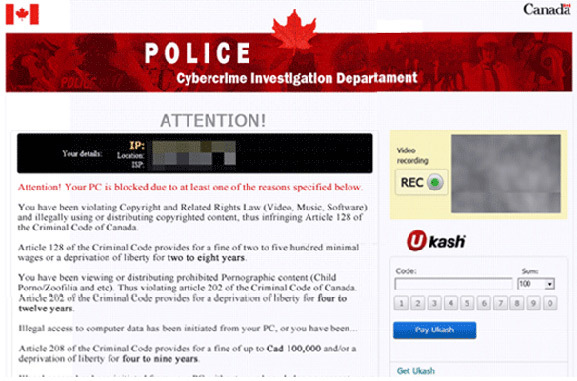 Cybercrime Investigation Department Virus is ransomware designed to steal money from susceptible PC users.