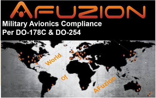 AFuzion Military Avionics DO-178C / DO-254 /ARP4754A Webinar May 2, 2019