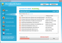 Win 8 Security System is a rogue anti-virus program that takes advantage of computer users.