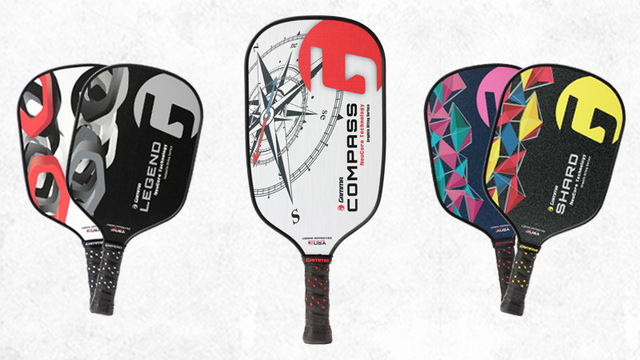 Introducing GAMMA Pickleball's new paddle lineup.
