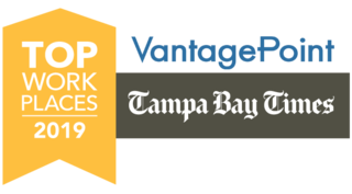 Vantagepoint AI Named Top Workplace by The Tampa Bay Times