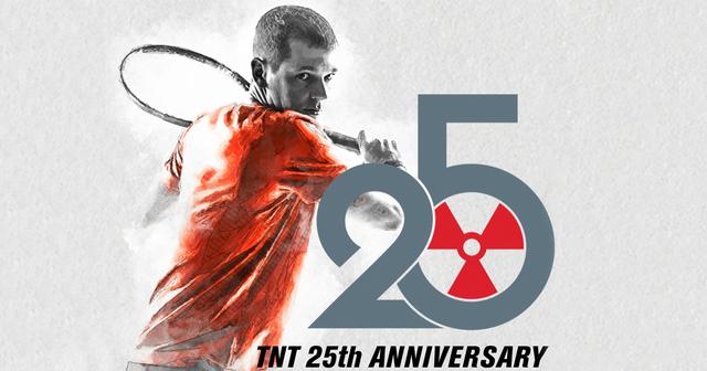 GAMMA Tennis celebrates the 25th anniversary of TNT string.