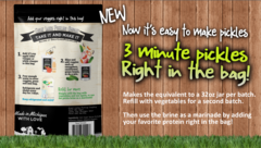 Pickle making made easy!