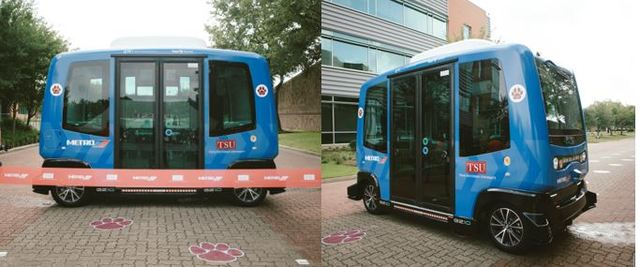 First Transit's shared autonomous vehicle (SAV) pilot with METRO Houston and Texas Southern University