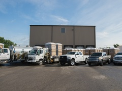 Moon Portable Restrooms offers Louisville, Kentucky an upscale bathroom rental experience through the wide variety of luxury portable restrooms and restroom trailers in their fleet.