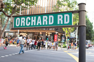 Orchard Road - Singapore's shopping district