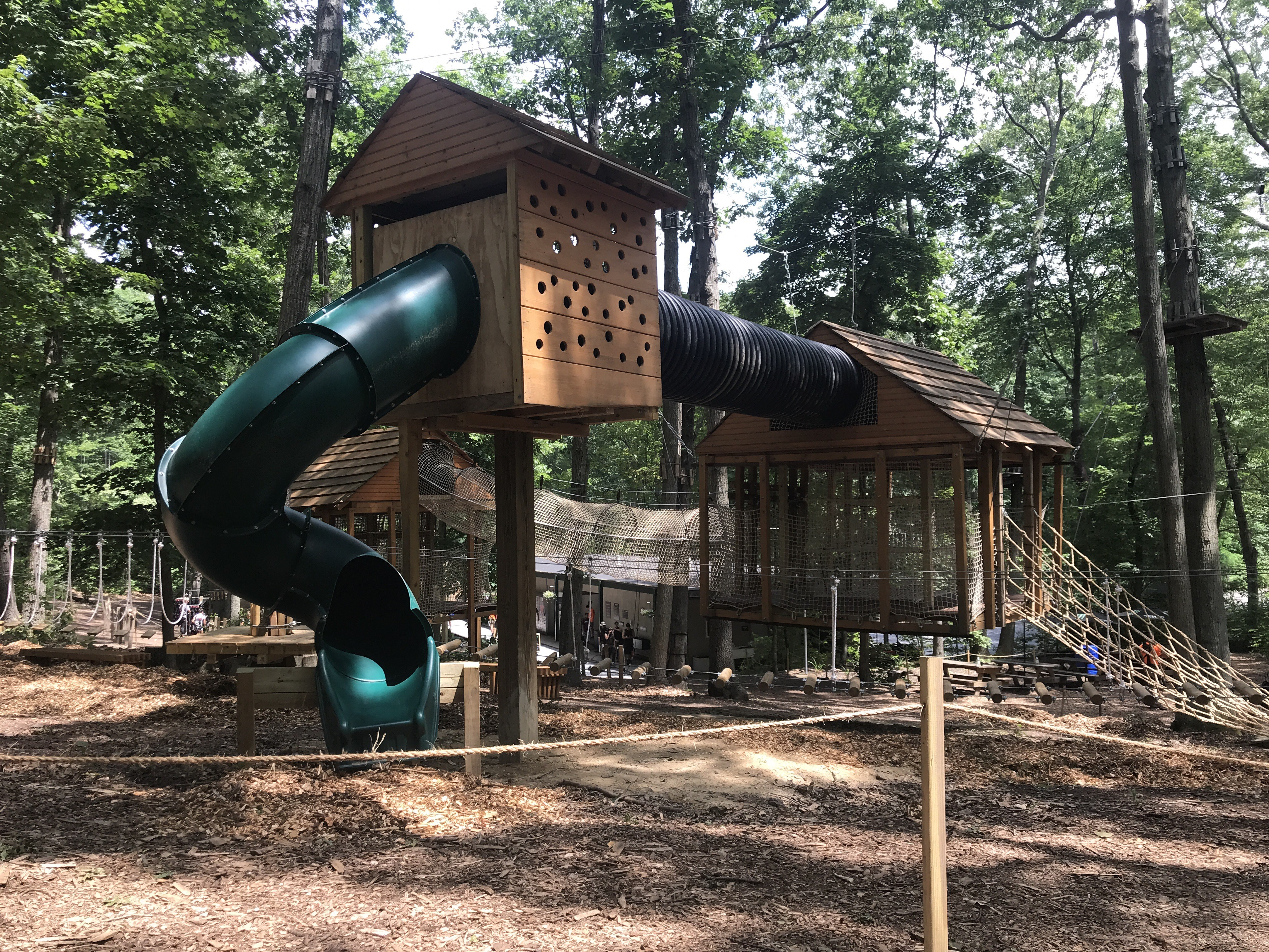 Climbers Age 3 6 Can Now Share The Fun At The Adventure Park At Long Island S New Adventure Playground