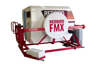 Redbird's Full Motion FMX Flight Simulator Receives FAA Certification