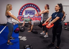 F45's functional boot-camp style approach to training offers a unique environment for those who struggle in the more typical box gym style setting.