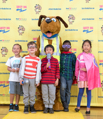 First Student's Safety Dog Bus Tour Educates Students on School Bus Safety