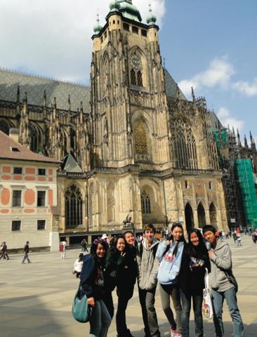 Students in Prague - Czech Republic