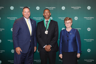 First Student Senior Vice President Receives National Safety Council Distinguished Service to Safety Award