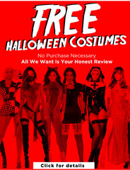 AMI Clubwear Limited Time Release: How To Get Free Halloween Costumes