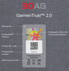 3D AG, Switzerland, a world leading hologram and brand protection company, announces its enhanced holographic GarmenTrus…