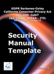 Security Manual Addresses CCPA User Privacy and Control According to Janco Associates