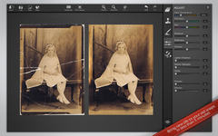 Restore damaged photos with Snapheal