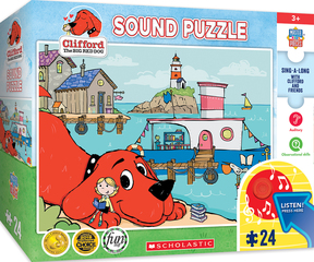 MasterPieces Unleashes Line of Clifford The Big Red Dog® Products at Toy Fair 2020