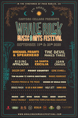 Whale Rock Music & Arts Festival 2020 Lineup Announced