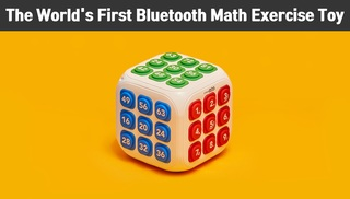 Smart Math Exercise Toy, connects with app via Bluetooth