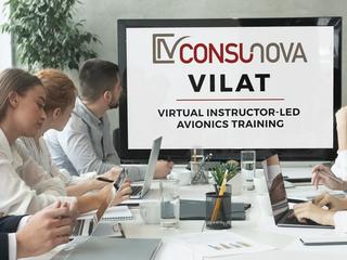 ConsuNova offers Virtual Instructor-led Avionics Training (VILAT)