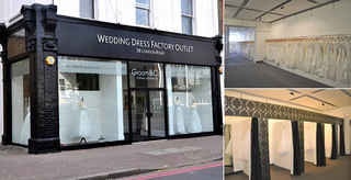 New London Store for Discount Designer Wedding Dress Factory Outlet