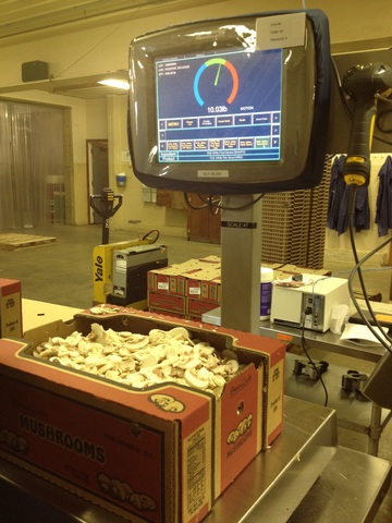 Target Checkweighers ensure accurate weight is recorded, inventory deducted and a PTI case label generated