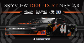 SkyView Partners Announces Sponsorship of NASCAR Xfinity Driver Tommy Joe Martins