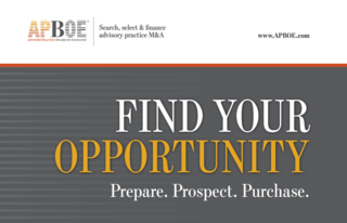 APBOE Launches A Roadmap For Buyers On How To Acquire Wealth Management Practices