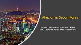 AFuzion Wins Korea's Largest 2020 Defense Contract in Worldwide Competition Through 2024