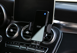 The world's first smart auto-navigation & fastest charging car mount