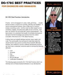 """DO-178C Best Practices"" - New Free AFuzion Whitepaper Improves Avionics Development"