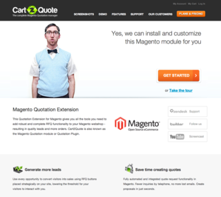 Magento B2B Quotation Extension - Cart2Quote, announces Industry Partnership with Magento