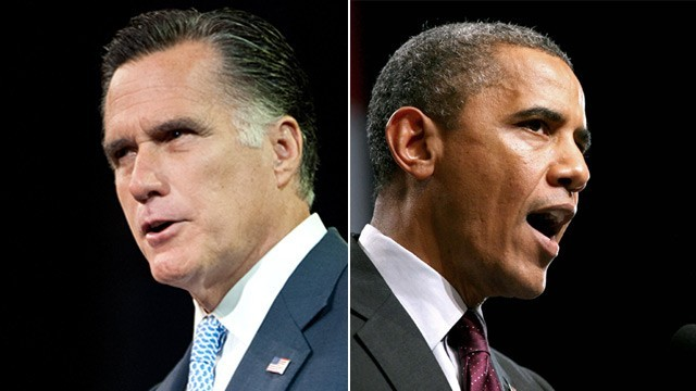 Mitt Romney and Barack Obama face off tonight, October 3, in the first presidential debate of the 2012 election.